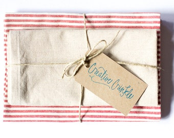 Tea Towel – Hemp / Organic Cotton – Set of 2