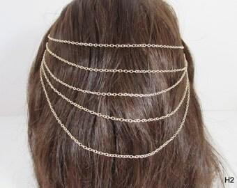 Chain headband hair accessory