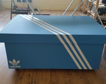 Wonderful XL Giant Trainer / Sneaker Storage Box, Adidas, Gift For Him, Birthday  Present