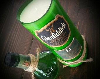 Glenfiddich Scotch candle