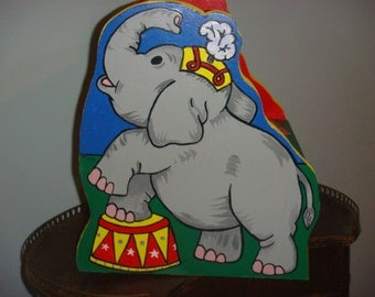 Circus Elephant Step Stool