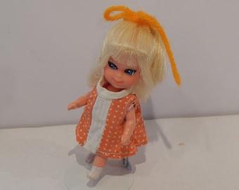 Vintage Mattel Shirley Skediddler Liddle Kiddle Redressed 1968