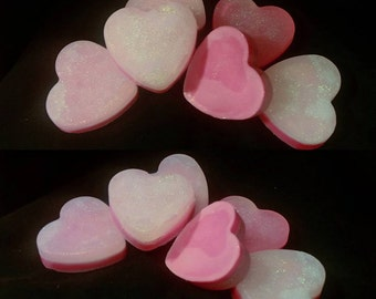 Two color love soap wiccan spell kit (CHOOSE YOUR SCENT)