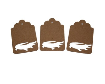 Alligator Gift Tags