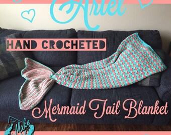 The Ariel Mermaid Blanket