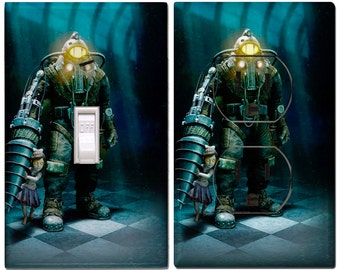 Bioshock Custom Switch Cover