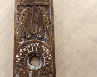 Eastlake Mortise Front, Door Lock, Mortise Plate