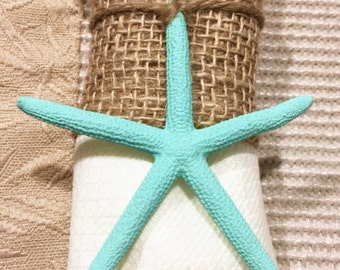 Starfish napkin ring Etsy