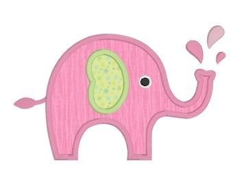 Cute pink elephant - photo#20