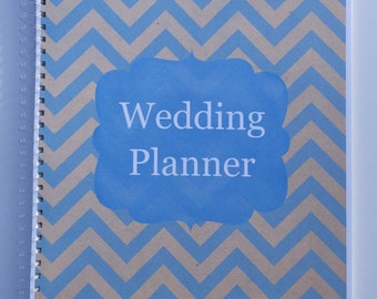 Wedding Planner & Organizer - Vintage Chevron in Assorted Colors