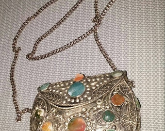 Middle eastern metal purse