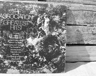 """The Association """"Greatest Hits"""" 12 inch vinyl. FREE SHIPPING"""