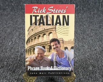 Rick Steve's Italian Phrase Book & Dictionary C.1996