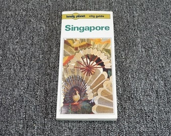 Singapore City Guide By Turner And Wheeler C.1991