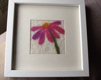 Felted Flower Picture