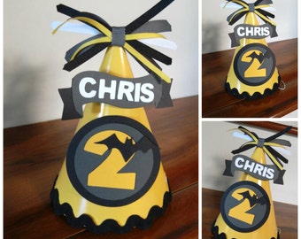 Batman Party Hat, Batman Birthday Hat, Batman, Marvel Party Hat, Marvel Birthday, Superhero Birthday