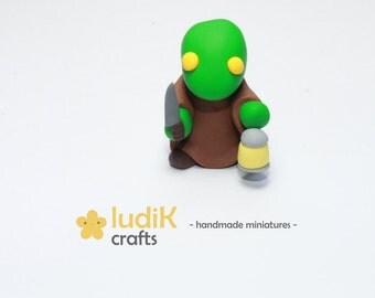Tonberry miniature (Final Fantasy) | Clay FIMO