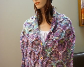Seasite couch scarf with buttons.