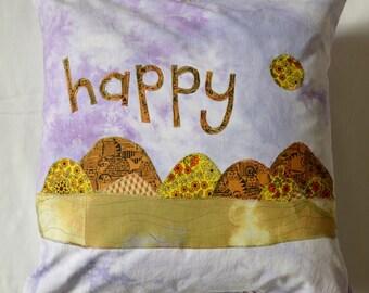 Happy Cushion - Cat Landscape