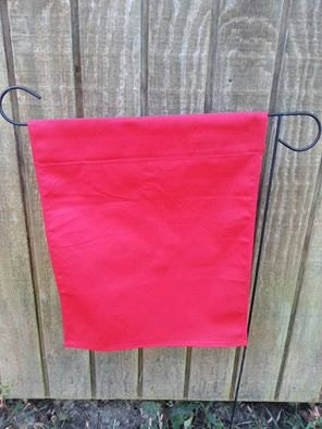 Blank Garden Flag For Crafting Do It Yourself Vinyl