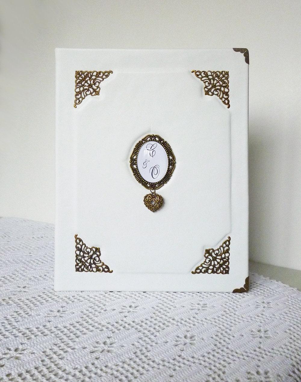 wedding album personalized leather photo album monogrammed. Black Bedroom Furniture Sets. Home Design Ideas