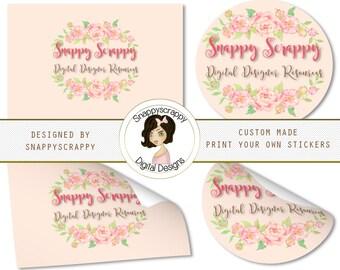 Custom Labels, Custom Tags, Custom Stickers, Personalized Labels, Personalized Tags, Printable Stickers, Printable Tags, DIY Printables