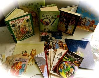 50 Piece Vintage and Modern Wizard of Oz Ephemera/Collage/Art Journaling/Papercraft Kit