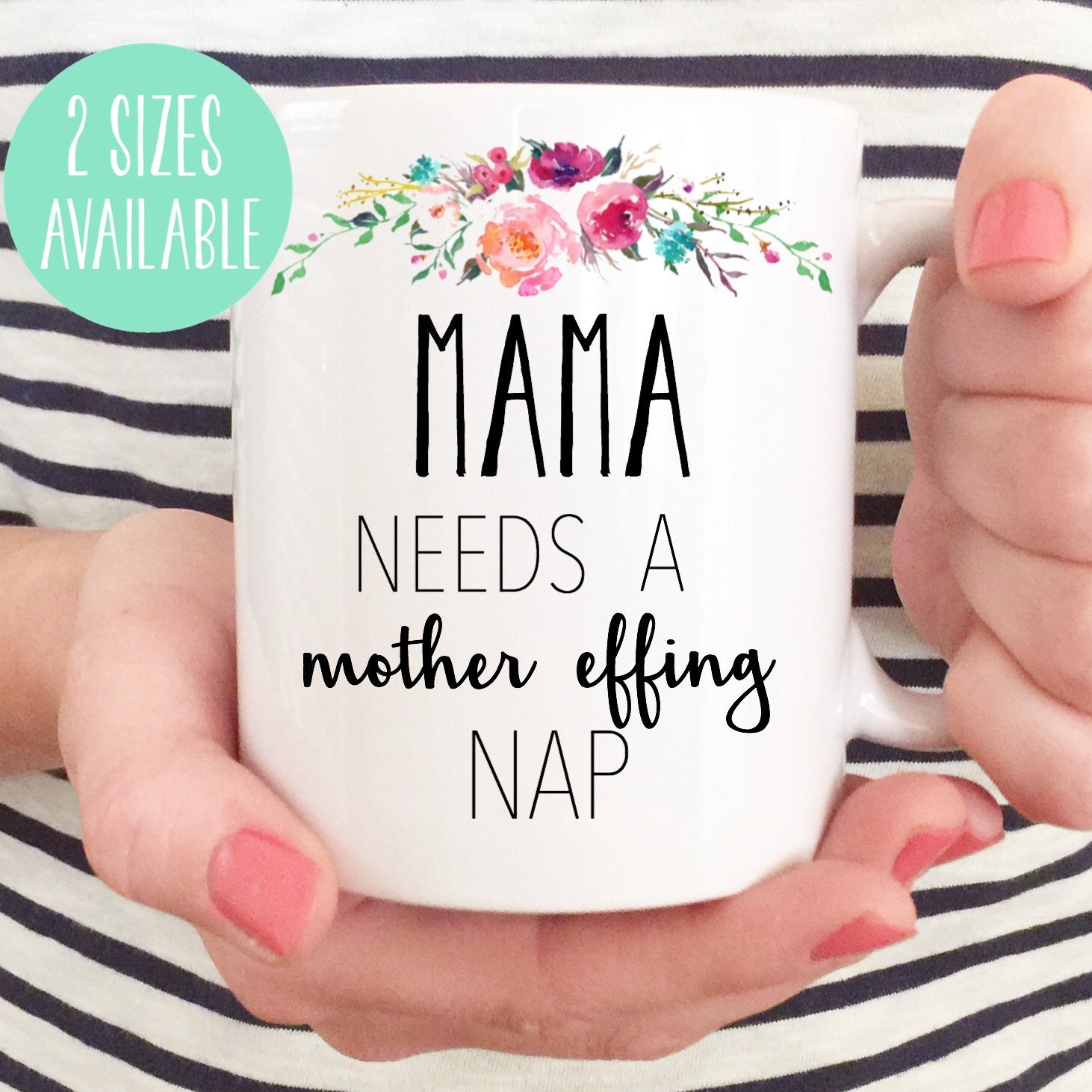 15oz New Mom Baby Shower Gift New Mom Gift Mama Needs A
