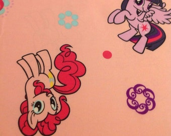 My Little Pony toddler bed sheet flat cutter fabric