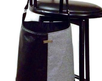 Bonnie Bucket Bag-Inside slip pocket-Inside zip pocket-Faux leather