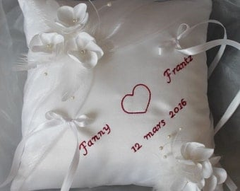 alliances-cushion small flowers, custom
