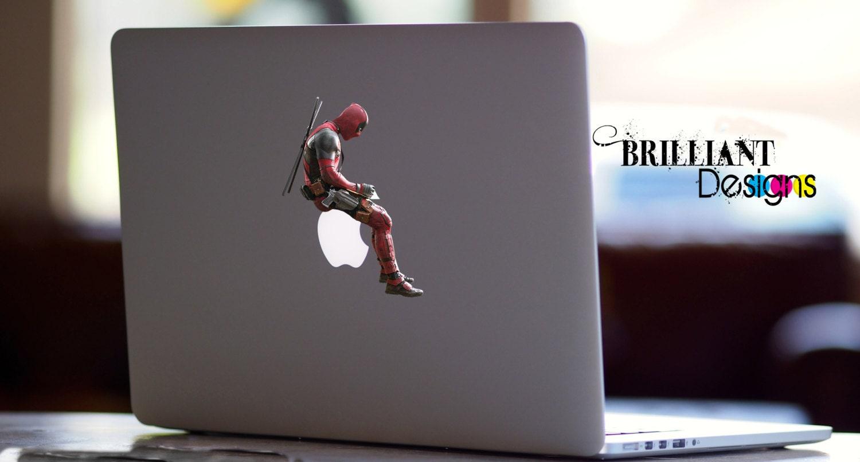 Deadpool Decal Deadpool Macbook Decal Deadpool Sticker