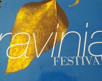 Ravinia International Festival of Arts Chicago Poster Free Shipping