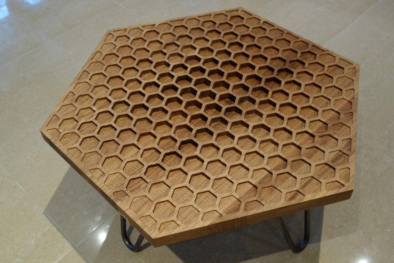 Hexagon Honeycomb Coffee Table