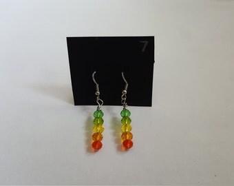 """Handmade Earrings - """"Citrus Cooler"""""""