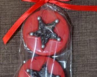 Star Chocolate Covered Oreos