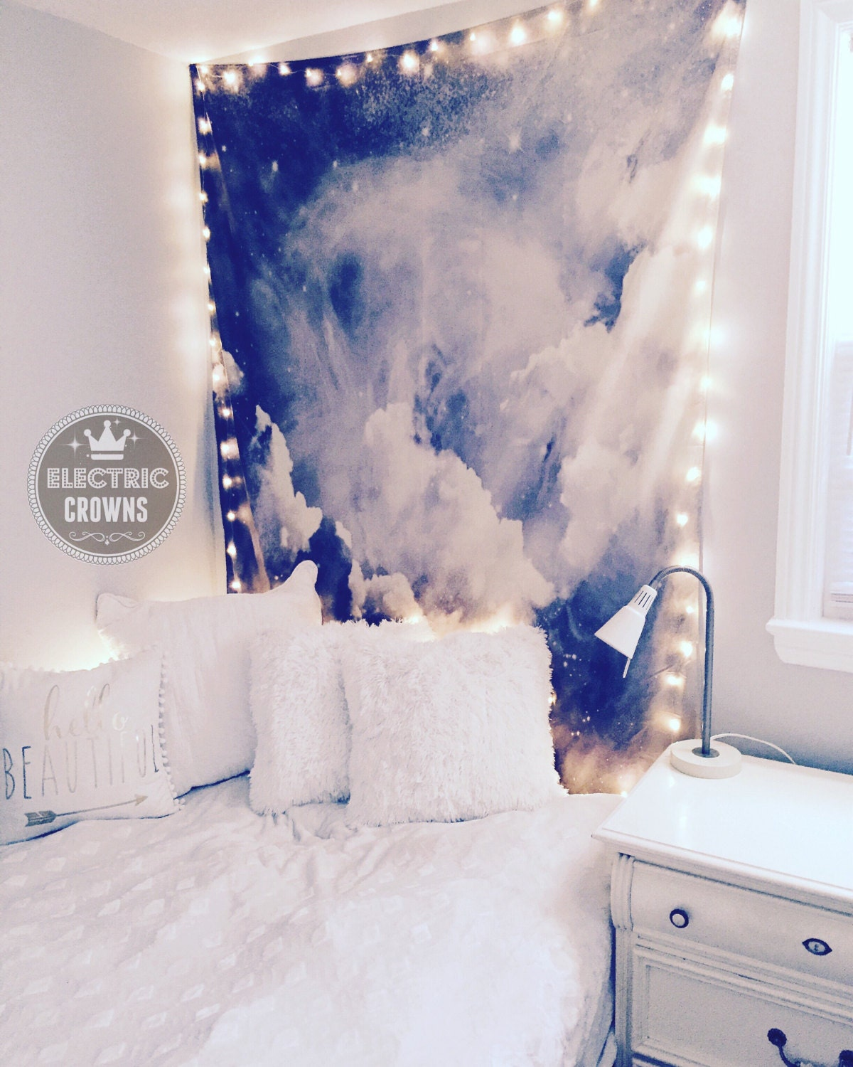 Room Decor Tapestry Lights Dorm Decor Lighting Dorm Room
