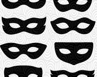 Mask template etsy cricut template superhero eye masks masquerade silhouette no fill png files cutting machines scrapbooking silhouette studio pronofoot35fo Gallery