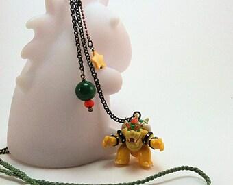 Bowser necklace