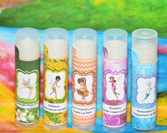 Fairy Lip Balm, Fairy Party Favors, Fairy Birthday Party, Fairy Birthday Party Favors, Fairy Tale Party Favors, Fairy Party Supplies, Girl