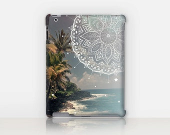 Beach Mandala iPad Case For - iPad 2, iPad 3, iPad 4 - iPad Mini - iPad Air - Mandala