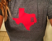 Houston Texans Inspired Soft Semi-fitted Adult T-Shirt