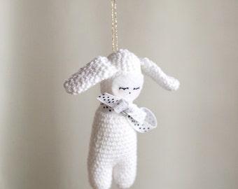 Bunny amigurumi, Stuffed animal rabbit, Bunny plushie, x-mas decoration rabbit, bunny stuffed animal, bunny plush, bunny soft toy