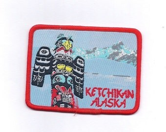 Vintage Ketchikan Alaska Patch