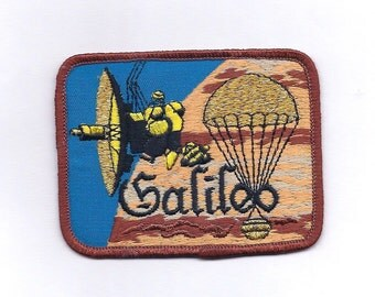 Vintage Galileo Space Telescope Patch