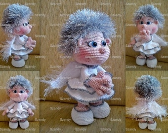 Elf Angel and Devil crochet amigurumi PATTERN by ...