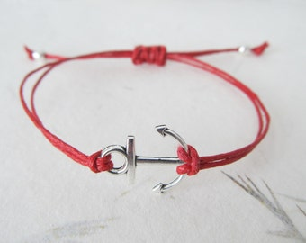 Anchor bracelet, nautical bracelet