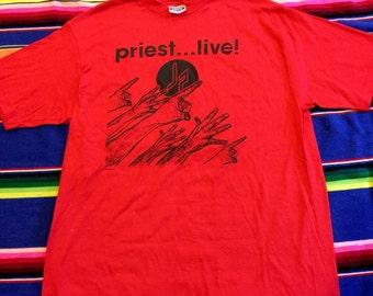 1987 DeadStock Judas Priest Tour T-Shirt