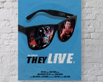 They Live Alternative Movie Poster