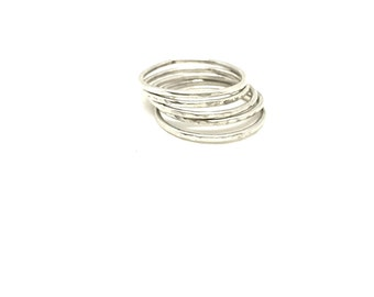 Sterling Silver Dainty Stackable Set